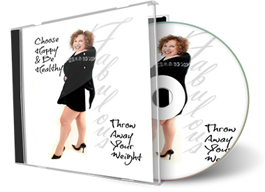 Throw Away Your Weight | Jacqueline Fairbrass | Feeling Absolutely Fabulous | weight-cd