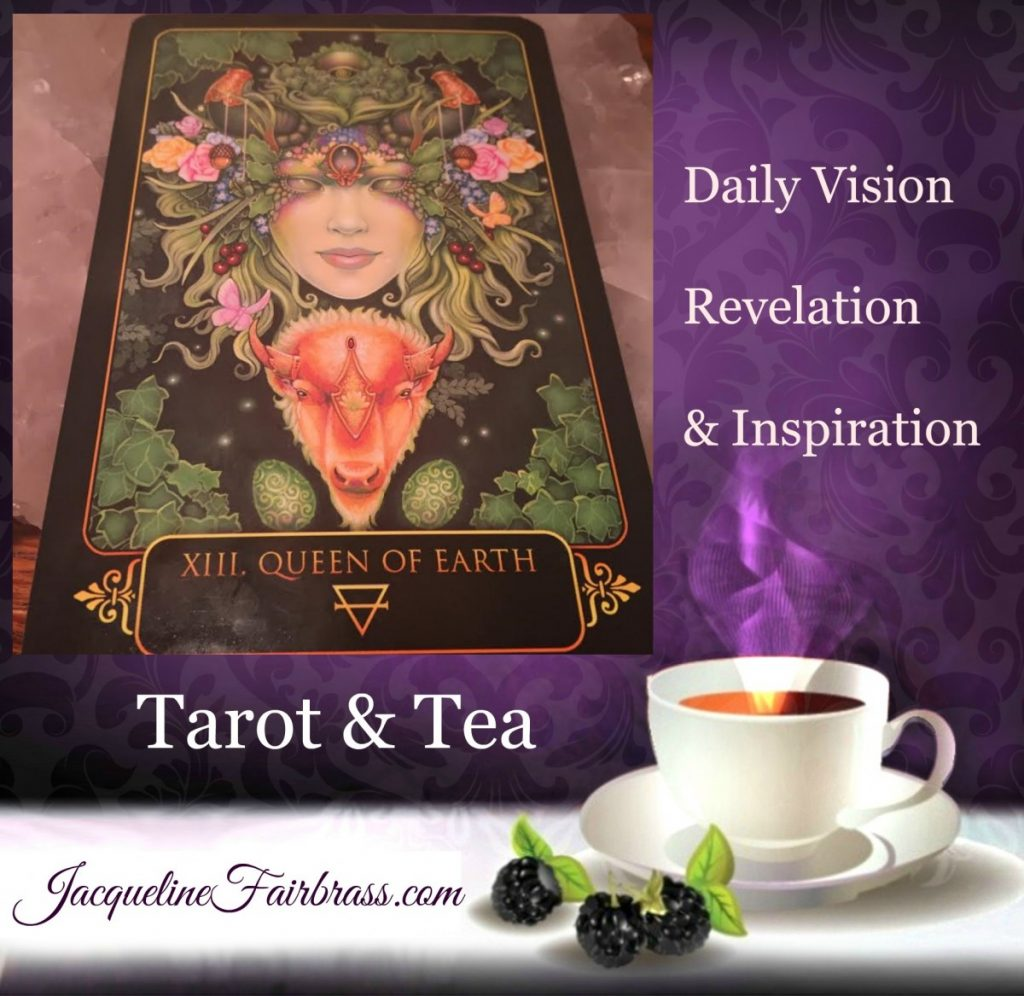 Kindness | Queen of Earth | Queen of Pentacles | Nurturing | Tarot & Tea | Feeling Absolutely Fabulous | Jacqueline Fairbrass | Daily Oracle