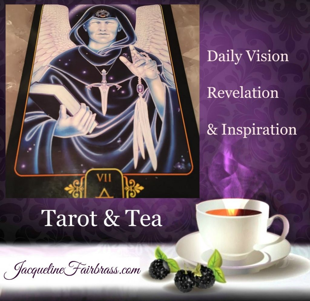 Influence | Kindness | Spirituality | Seven of Air | Tarot & Tea | Jacqueline Fairbrass | Feeling Absolutely Fabulous | Daily Oracle