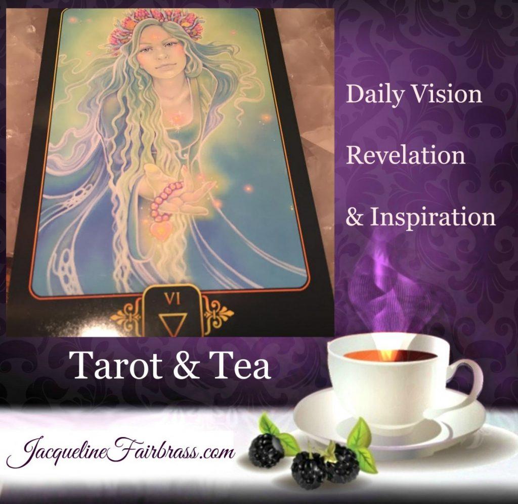 Prosperity | Abundance | Six of Water | Tarot & Tea | Feeling Absolutely Fabulous | Bramble Cottage Tea | Daily Oracle | Jacqueline Fairbrass