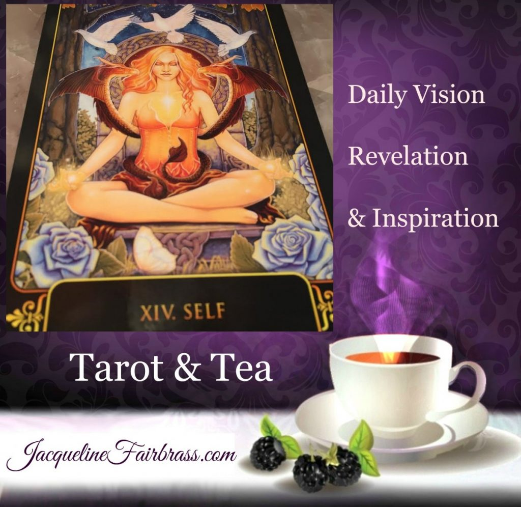 Definitions | Self | Break Free | Tarot & Tea | XIV | Feeling Absolutely Fabulous | Jacqueline Fairbrass | Daily Oracle