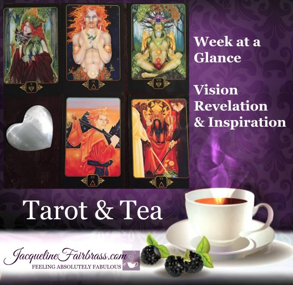 Receive | Get Creative | Fight | Hike | April | Tarot & Tea | Feeling Absolutely Fabulous | Jacqueline Fairbrass