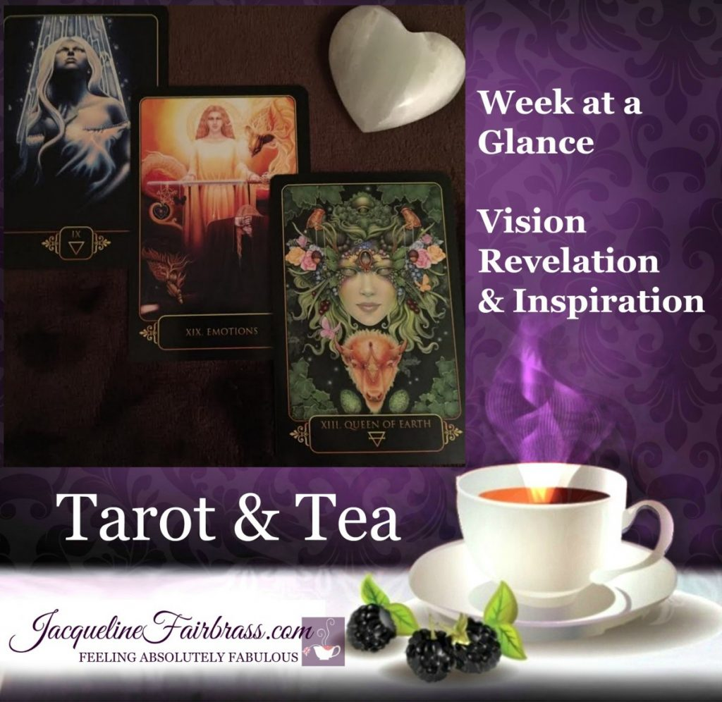 Emotions | Tarot & Tea | Week at a Glance | Bramble Cottage SnoValley | Feeling Absolutely Fabulous | Jacqueline Fairbrass