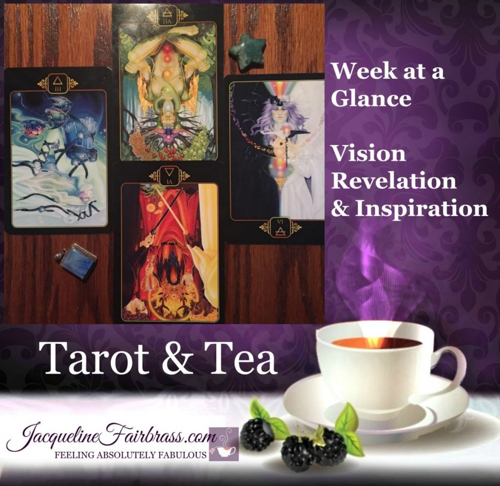 Topsy-turvy | Week at a Glance | Tarot & Tea | Jacqueline Fairbrass | Dreams of Gaia | School of Complementary Therapies | Bramble Cottage | Feeling Absolutley Fabulous
