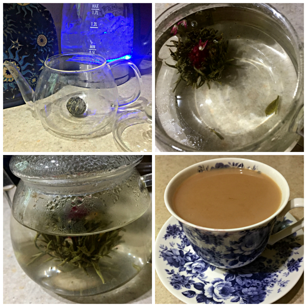 Rushing | Tea | Glass Teapot | JFairbrass | Feeling Absolutely Fabulous | Tea For Two