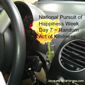 National Pursuit of Happiness Week Day Seven Kindness