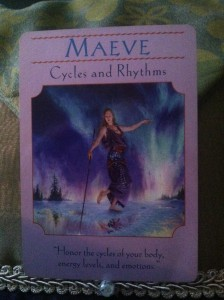 Maeve, goddess of cycles choose happy