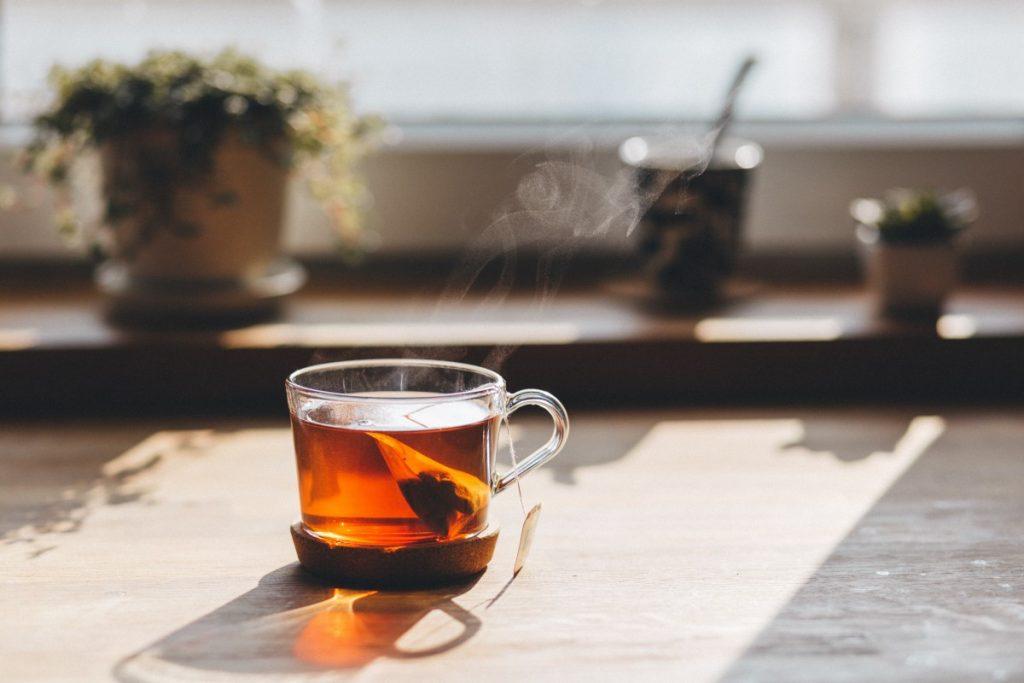 red vanilla tea