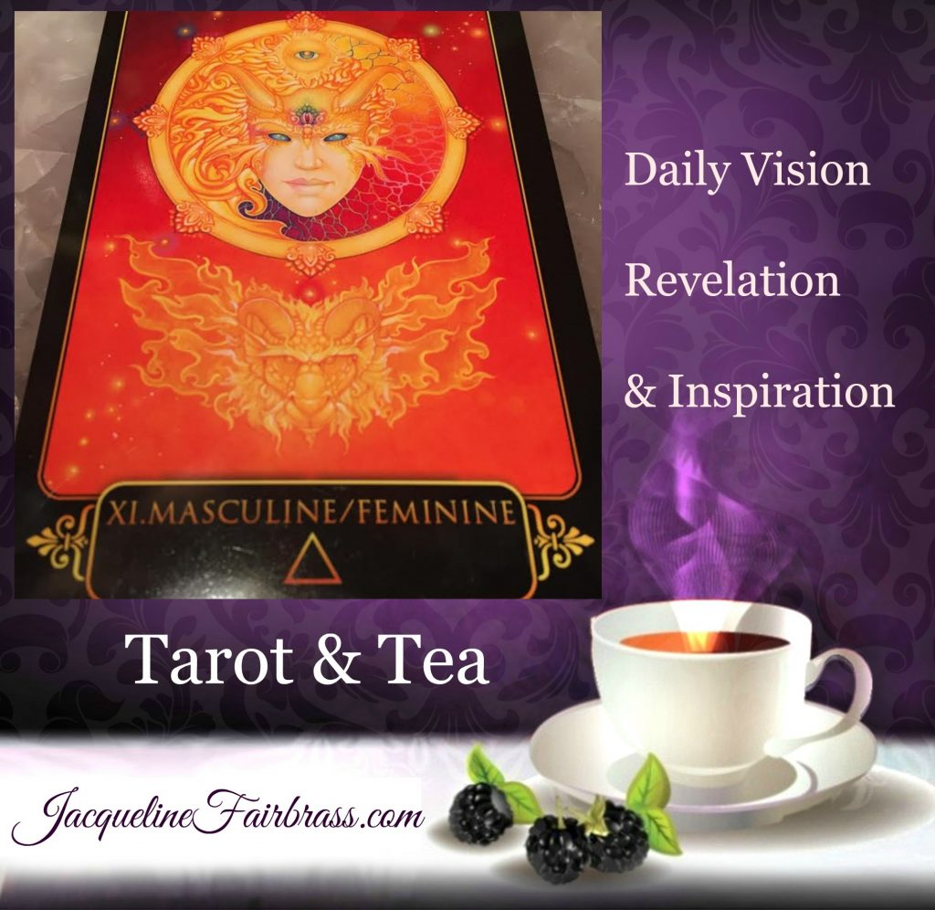 Fire | eleven of fire | Tarot 7 Tea | Jacqueline Fairbrass | Feeling Absolutely Fabulous | Tarot | Tea