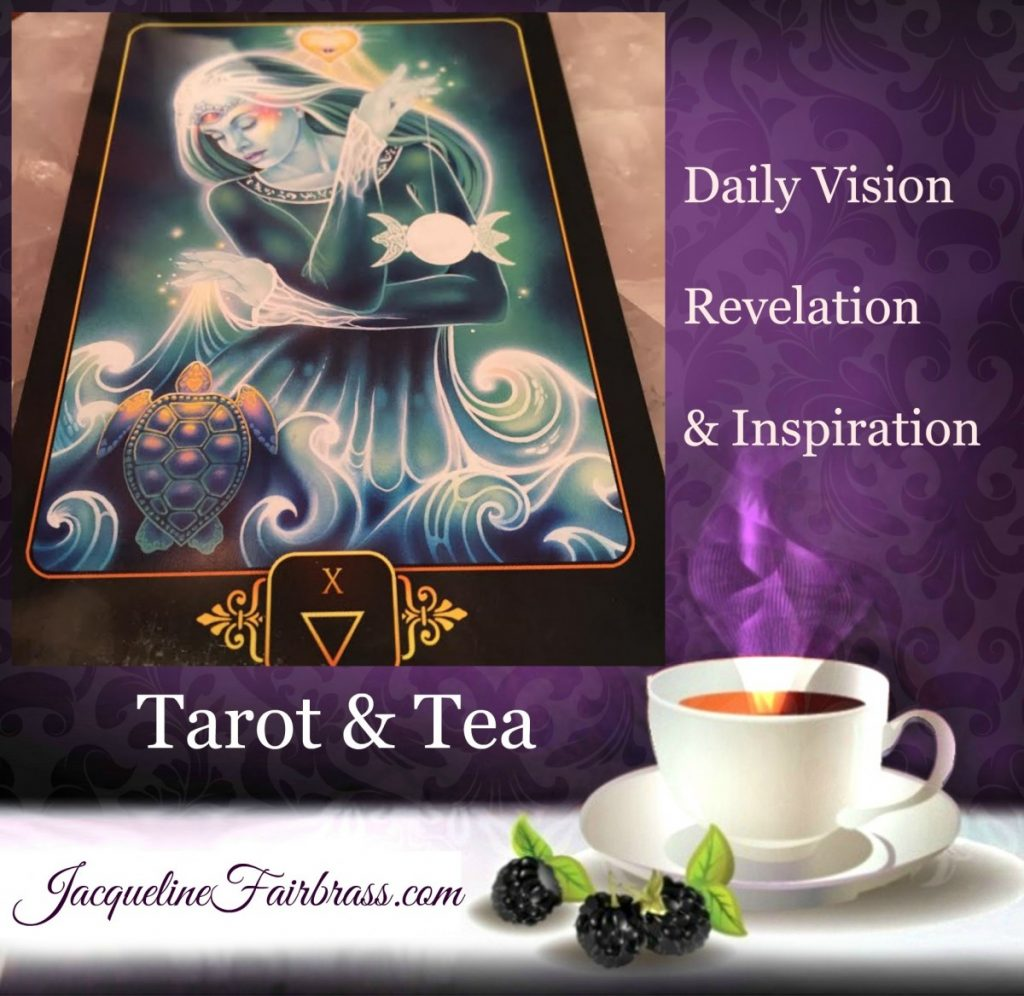 Emotions | Five of Water | Tarot & Tea | Five of Cups | Jacqueline Fairbrass | Feeling Absolutely Fabulous | Acceptance