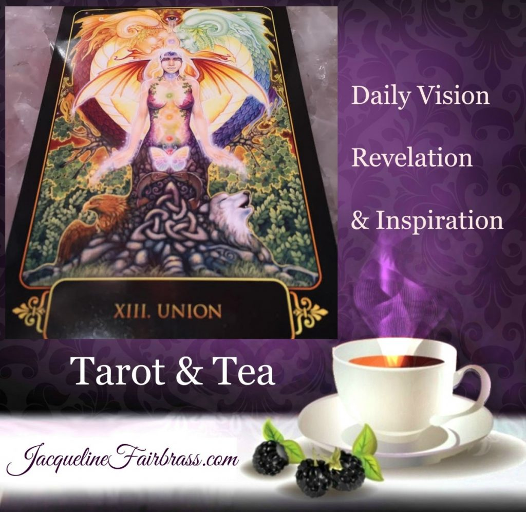 Union | Tarot & Tea | XIII | Death | Jacqueline Fairbrass | Daily Oracle | Feeling Absolutely Fabulous