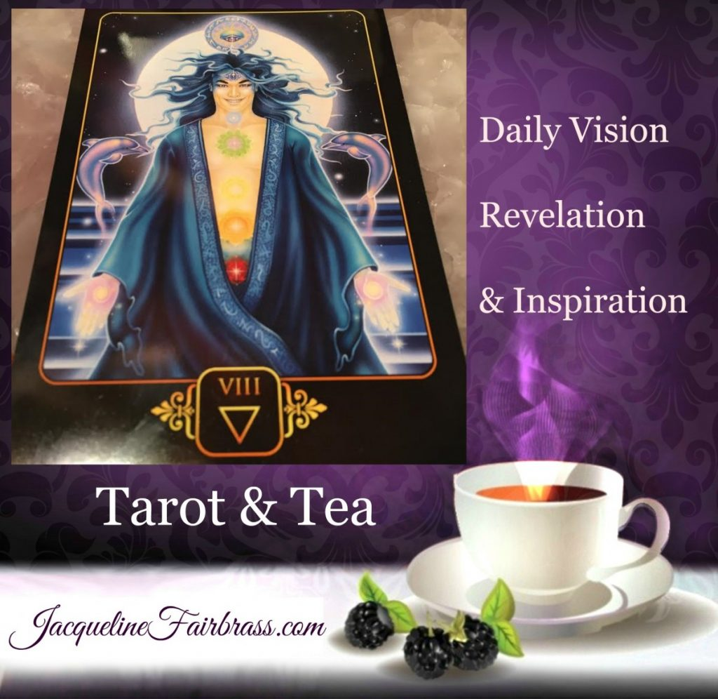 Appreciation | Gratitude | Delight | Eight of Water | Tarot 7 Tea | Eight of Cups | Jacqueline Fairbrass | Feeling Absolutely Fabulous | Daily Oracle | Chinese New Year