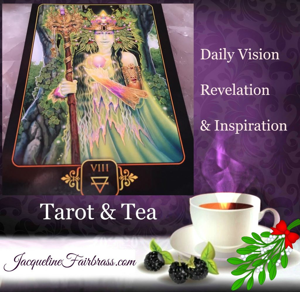 Abundance | Jacqueline Fairbrass | Tarot & Tea | Tarot | Tea | Bramble Cottage | Eight of Earth