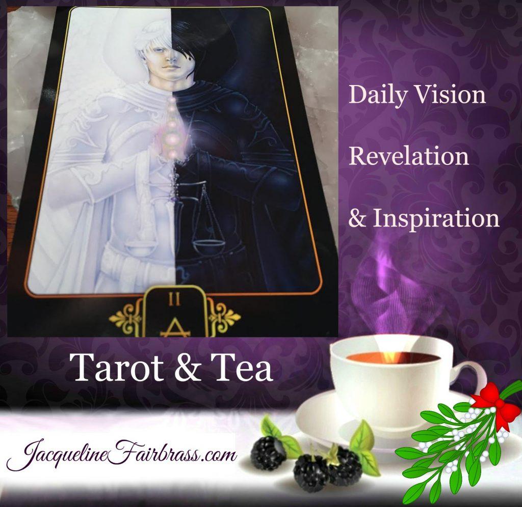Jacqueline Fairbrass | SchoolofCT | Tarot & Tea | Tarot | Tea | Opposites | Two Air