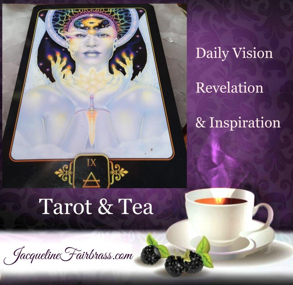 Jacqueline Fairbrass | Tarot & Tea | Tarot | Tea | Nine Air | Mind