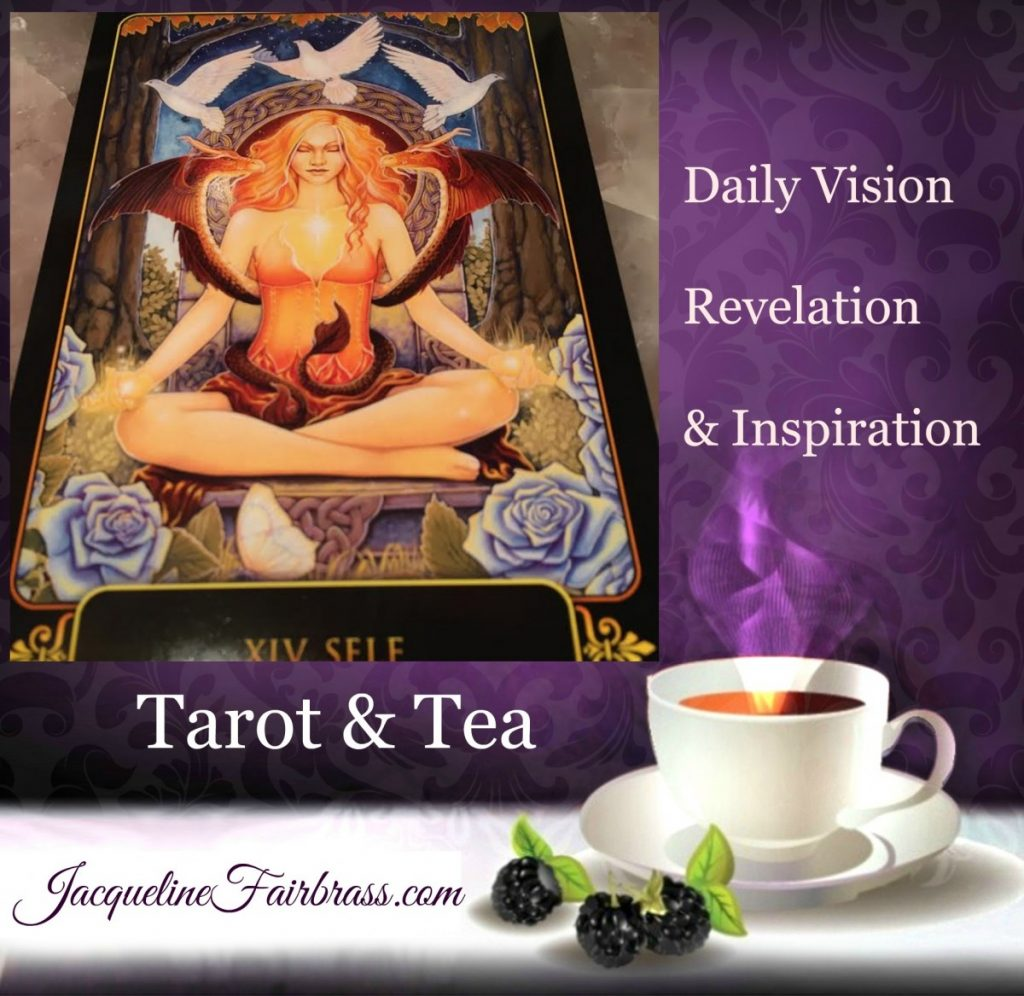 Discover | Self | XIV | Tarot & Tea | Feeling Absolutely Fabulous | Jacqueline Fairbrass | Daily Oracle | Self Care | Get Real