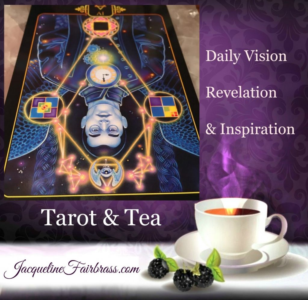 Four of Air Reversed | Review | Tarot & Tea | Feeling Absolutely Fabulous | Jacqueline Fairbrass | Daily Oracle