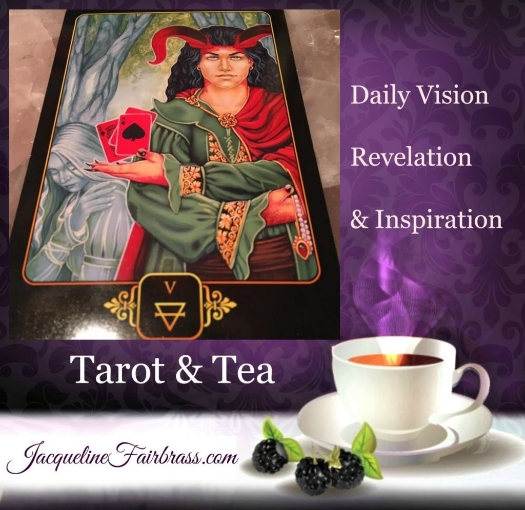 Deception | Duplicity | Tarot & Tea | Five of Earth | Feeling Absolutely Fabulous | Jacqueline Fairbrass | Daily Oracle