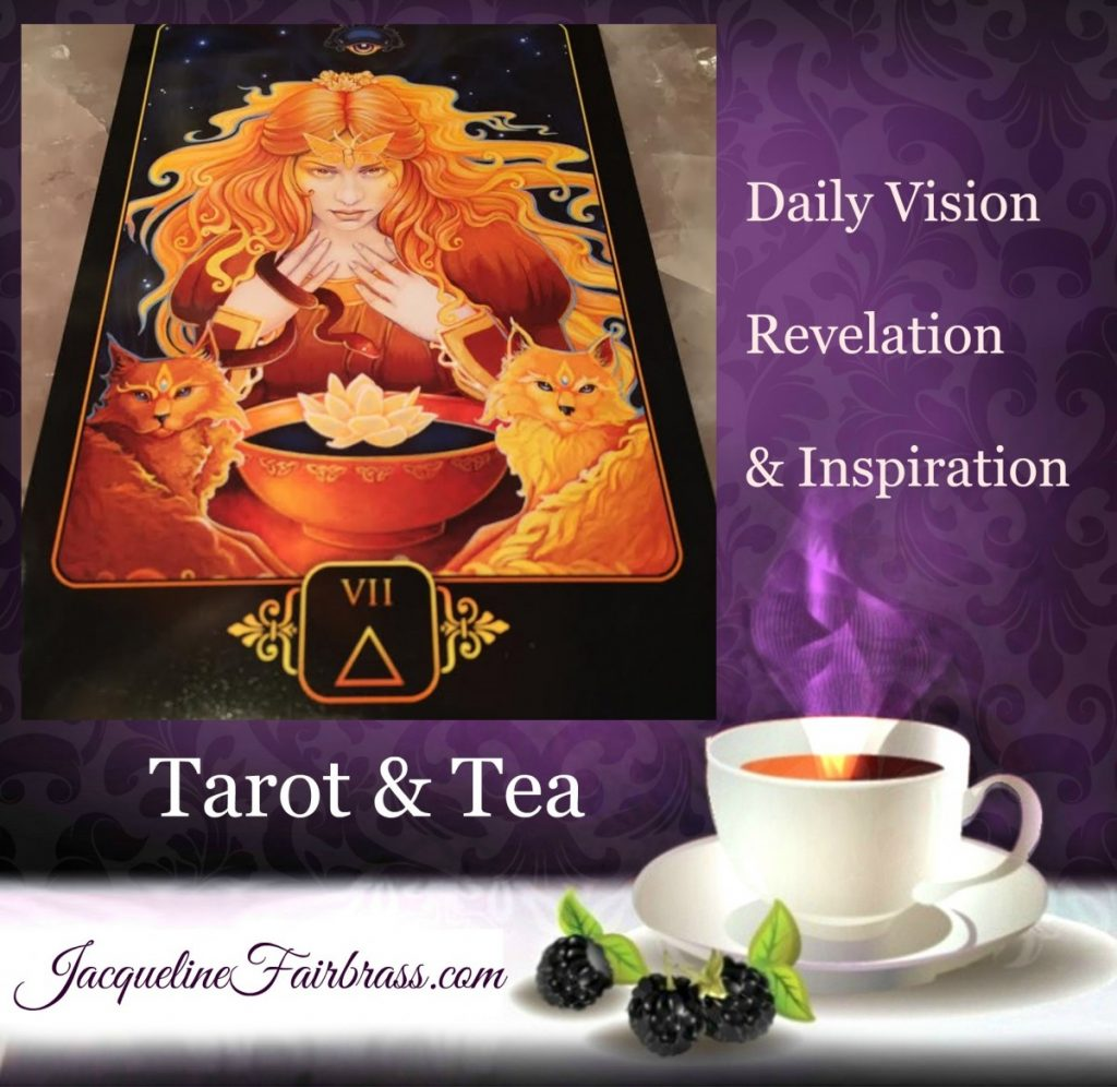 Honor | Intuition | Inner Wisdom | Tarot & Tea | Seven of Fire | Daily Oracle | Feeling Absolutely Fabulous | Jacqueline Fairbrass