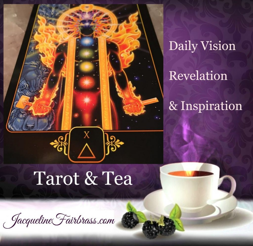 Lightworkers | Call to Action | Ten of Fire | Tarot & Tea | Feeling Absolutely Fabulous | Jacqueline Fairbrass