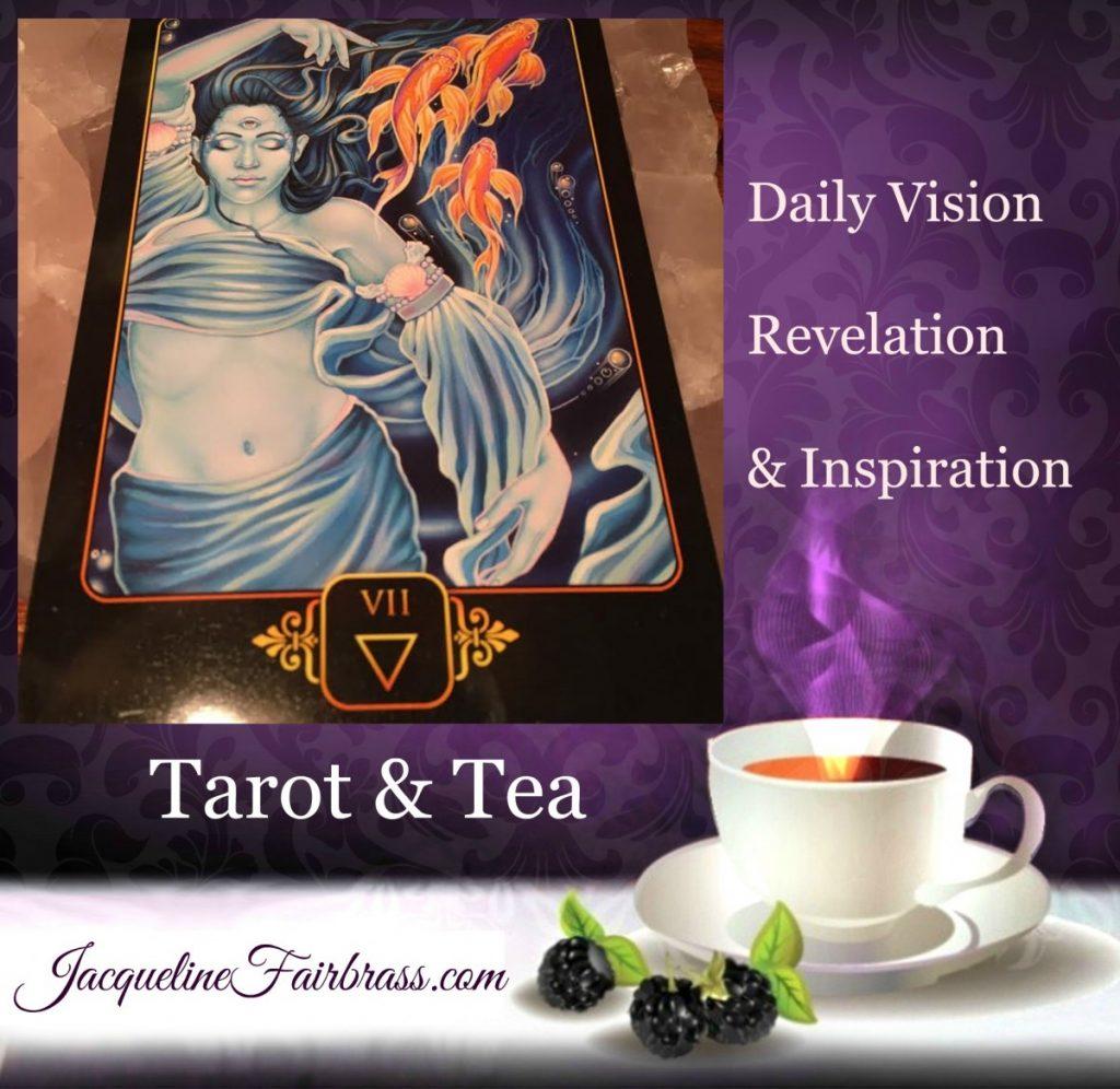 Permission | Tarot & Tea | Seven of Water | Feeling Absolutely Fabulous | Jacqueline Fairbrass