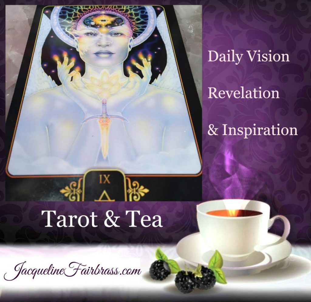 Possibilities | Imagination | Creativity | Law of Attraction | Tarot & Tea | Nine of Air | Jacqueline Fairbrass | Feeling Absolutely Fabulous