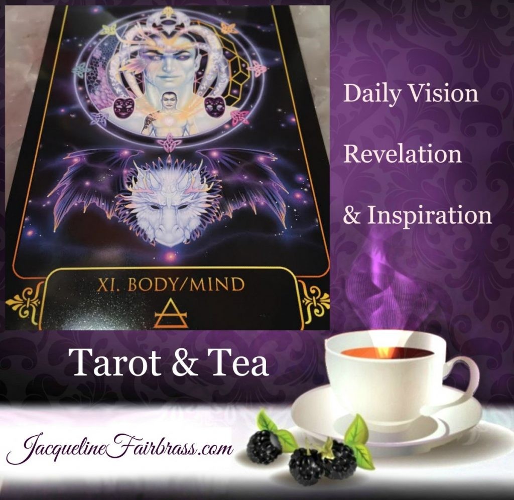 Opinions | Body/Mind | Facts | Tarot & Tea | Eleven of Air | Feeling Absolutely Fabulous | Jacqueline Fairbrass | Daily Oracle