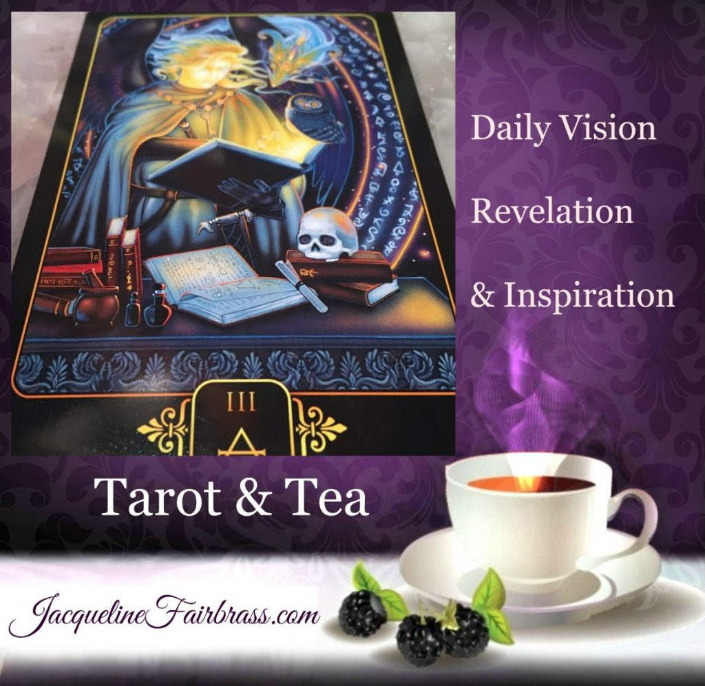 Three of Air | Three of Swords | Learning | Education | Mentoring | Tarot & Tea | Feeling Absolutely Fabulous | Jacqueline Fairbrass | Daily Oracle
