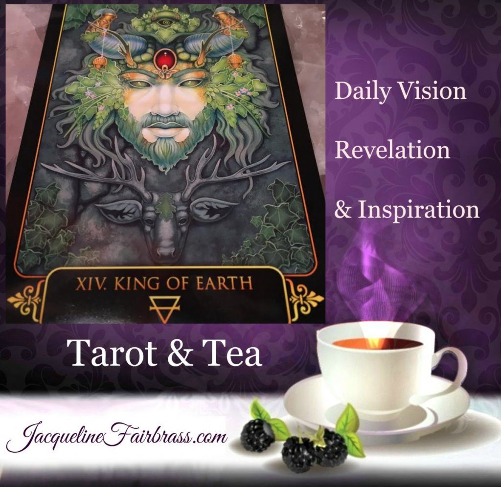 Changes | King of Earth | King of Pentacles | Acceptance | Feeling Absolutely Fabulous | Jacqueline Fairbrass | Tarot & Tea | Daily Oracle