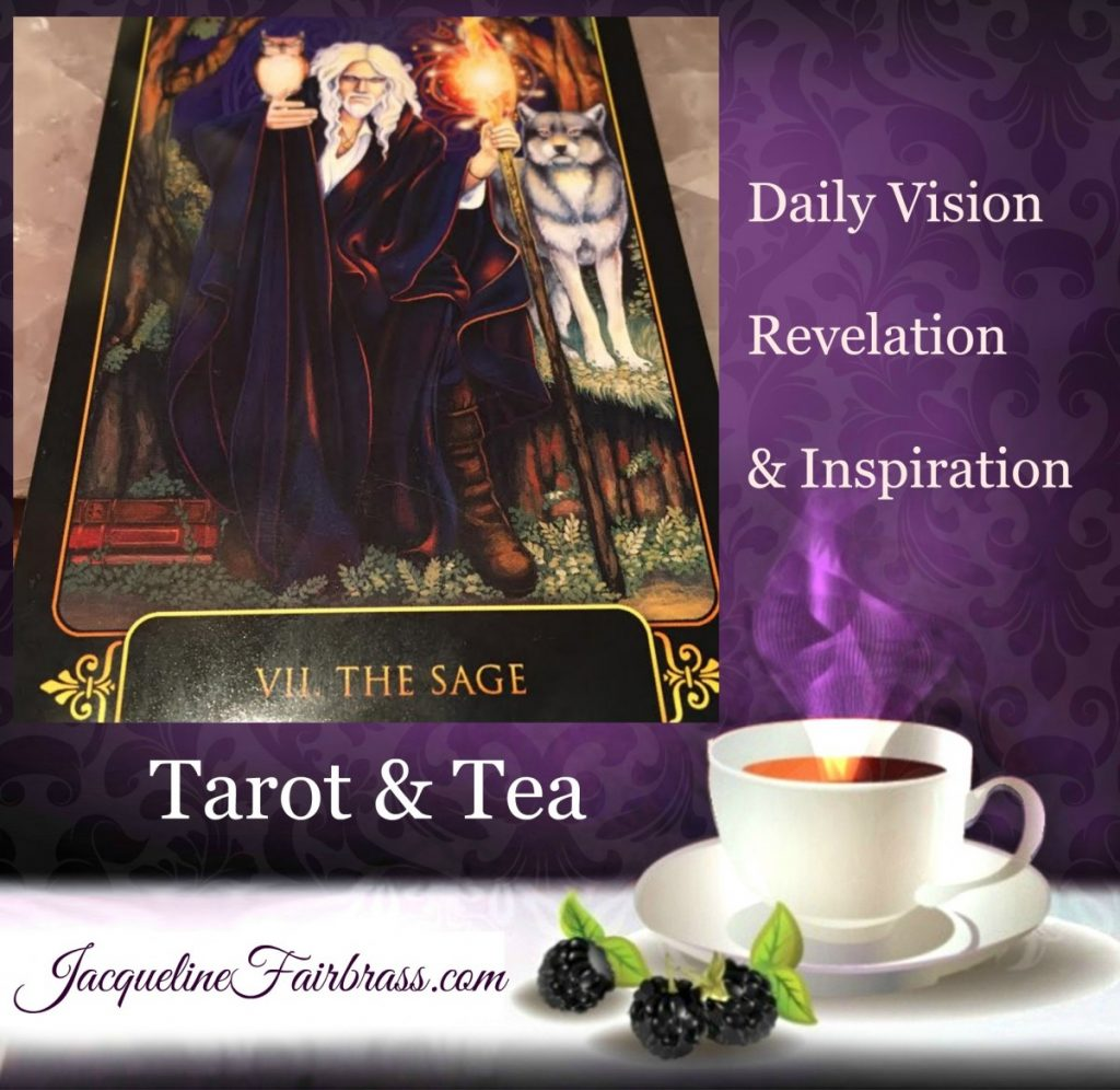 Wisdom | The Sage | VII | Tarot & Tea | Bramble Cottage | Feeling Absolutely Fabulous | Jacqueline Fairbrass