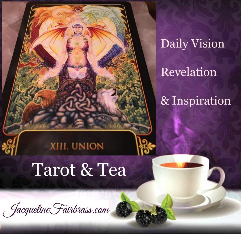 Union | Harmony | Connection | Spirituality | Tarot & Tea | Jacqueline Fairbrass | Feeling Absolutely Fabulous