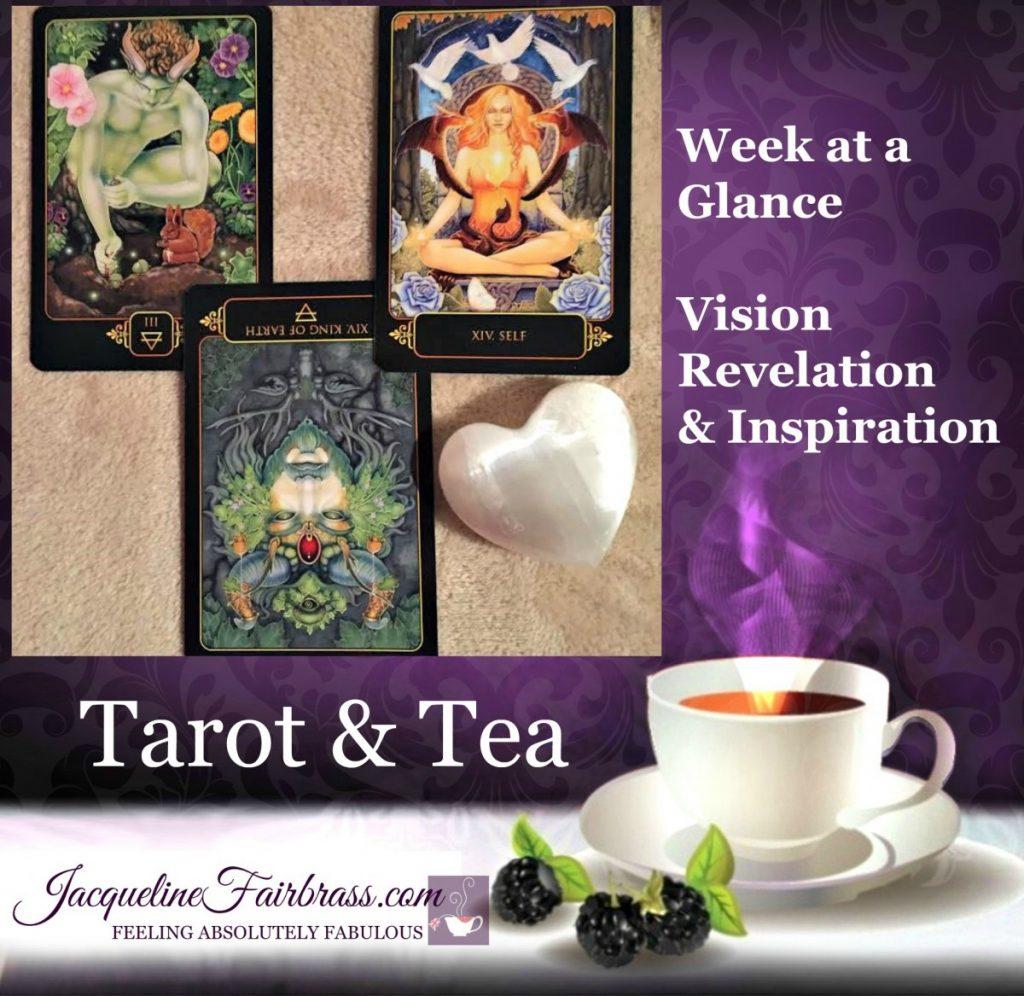 Progress | Tarot & Tea | Bramble Cottage | Feeling Absolutely Fabulous | Week at a Glance | Jacqueline Fairbrass