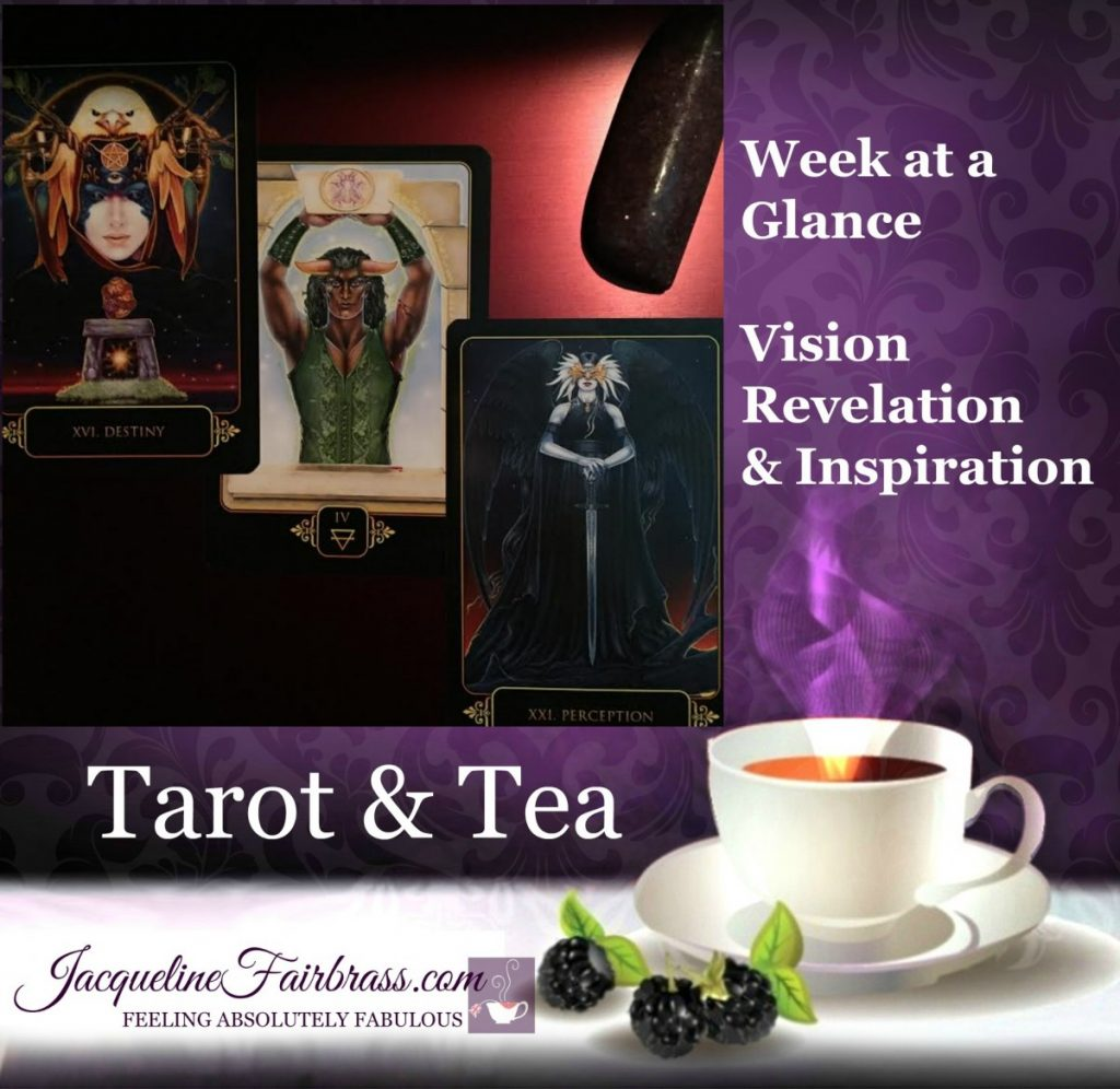 Destiny | Four of Earth | Perception | Tarot & Tea | Bramble Cottage | Jacqueline Fairbrass | Feeling Absolutely Fabulous