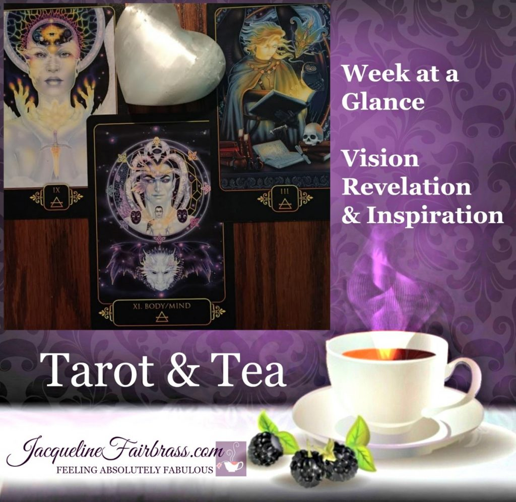 Potential | Tarot & Tea | Bramble Cottage | Feeling Absolutely Fabulous | Jacqueline Fairbrass | Week at a Glance