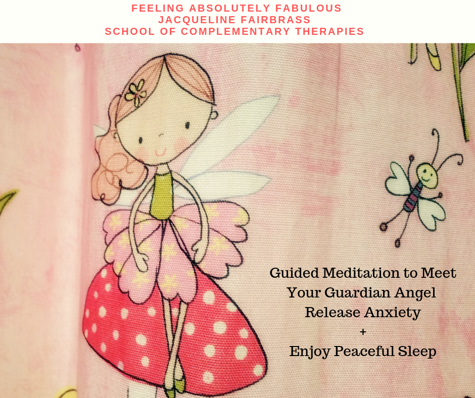 Guided Meditation to Meet Your Guardian Angel, Release Anxiety + Enjoy Peaceful Sleep