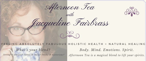 afternoon tea with Jacqueline